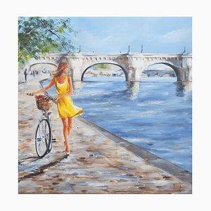 Marie-Laure Souq, Sous le Pont Neuf, 2021