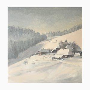 Claude Sauthier Landscape in Winter, 1983