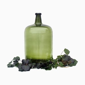 Antique Green Forest Glass Demijohn, South Germany