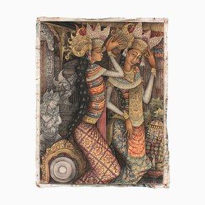 Budiyasa / Ubud Bali, Acrylic on Canvas