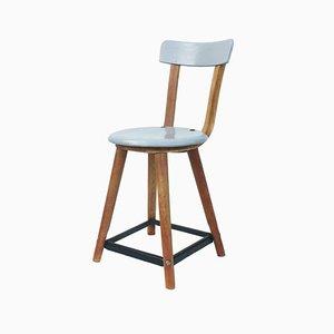 Wooden Bauhaus Chair, 1930s