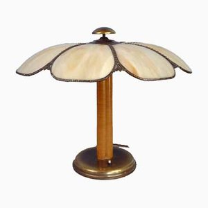 Art Nouveau Style Flower-Shaped Lamp, Early 20th Century