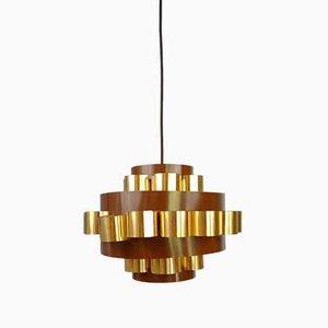 Danish Pendant Lamp Attributed to Coronell, 1970s