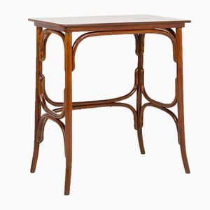 Restored Side Table by Michael Thonet