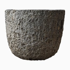 Stoneware Foundry Crucible or Flower Pot