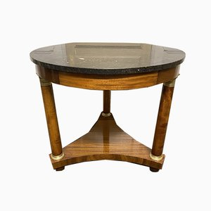 French Empire Centre Table with Marble Top