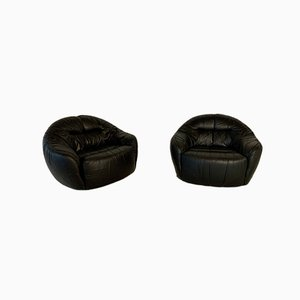 Lounge Chairs by Sergio Crippa, Set of 2
