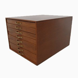 Vintage Jewelry Box with Many Drawers