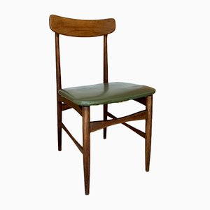 Nordic Style Chair in Walnut, 1960s