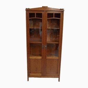 Art Deco Oak Display Cabinet