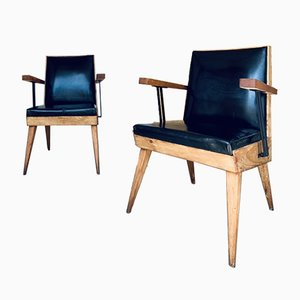 Hairdresser's Chairs, 1950s, Set of 2
