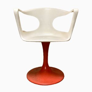 Space Age Venus Swivel Chairs by H. Artísticos Vidal, Valencia, 1970s, Set of 2