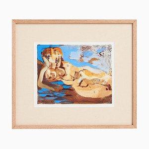 Painting by Jacques De Panafieu