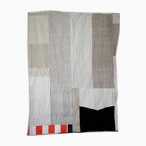 Black & White Linen Quilt by Dawitt