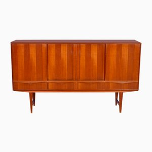 Danish Sideboard in Teak by E.W. Bach for Sejling Skabe, 1960s