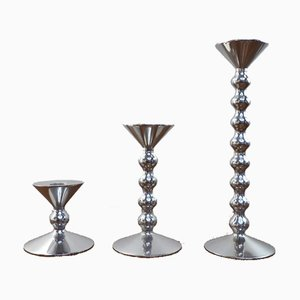 Candlesticks by Alessandro Mendini for Alessi, Italy, 2002, Set of 3
