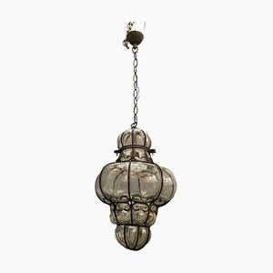 Antique Murano Glass Light Pendant, 1950s