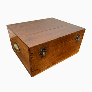 Vintage Wooden Storage / Jewelry Box, 1900s
