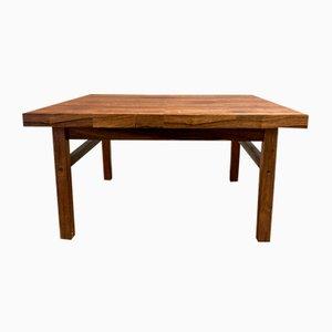 Scandinavian Rosewood Coffee Table from Brahmin, 1950s