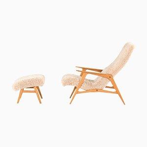 Model Siesta Easy Chair by Jio Möbler, Sweden, Set of 2