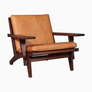 Model GE-370 Lounge Chair by Hans J. Wegner for Getama