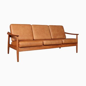 Three Seater Model 165/3 Sofa by Arne Vodder