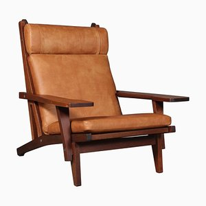 Model GE-375 Lounge Chair by Hans J. Wegner for Getama