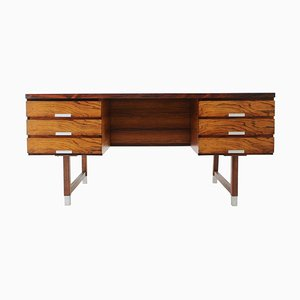 Rosewood Free Standing Writing Desk by Kai Kristiansen, Denmark, 1960s