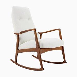 Beech Rocking Chair from Drevotvar, Czechoslovakia, 1970s