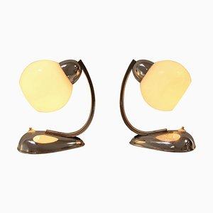 Table Lamps by Kamenicky Senov, 1950s, Set of 2