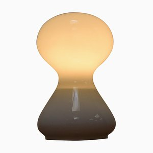 Mid-Century Glass Table Lamp by Ivan Jakes, 1970s