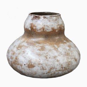 Vintage French Ceramic Vase by Alexandre Kostanda, 1960s
