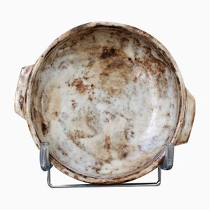 Vintage French Decorative Ceramic Bowl / Vide-Poche by Alexandre Kostanda, 1960s