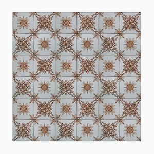 Antique Tile from Societe Morialme, 1920s, Belgium