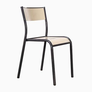 French Stacking Mullca Dining Chairs, 1970s, Set of 4