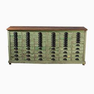 French Workshop Multidrawer Cabinet, 1950s