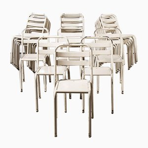 French T2 Dining Chairs from Tolix, 1950s, Set of 24