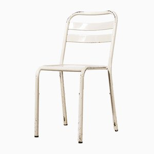 French T2 Dining Chairs from Tolix, 1950s, Set of 4