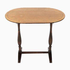 Modernist Swedish Oval Side Table from Nordiska Kompaniet, 1940s