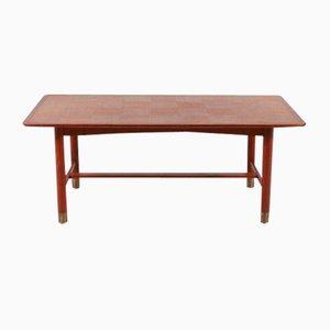 Modern Scandinavian Teak Coffee Table by Carl-Axel Acking, Sweden, 1960s