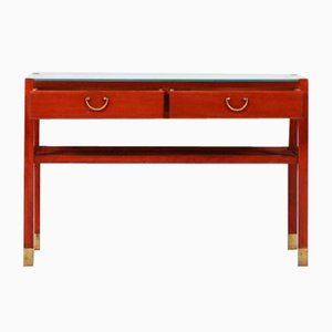 Mahogany Low Sideboard from Josef Frank, 1950s