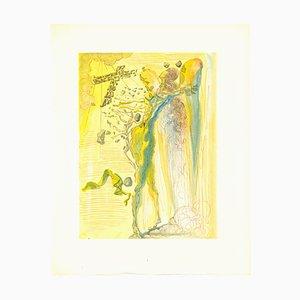 Salvador Dalí, Dantes Ecstasy, Original Woodcut, 1963