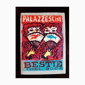 Bestie del '900, Book Illustrated by Mino Maccari, 1951