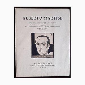 Alberto Martini, Thirty-Fantasies, Illustrated Book, 1924