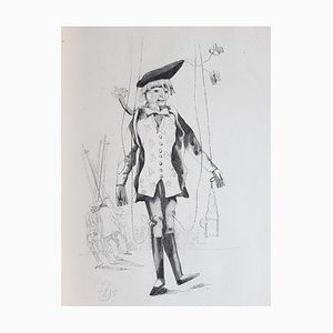 Alcide-Joseph Lorentz, Polichinel Ex-Roi, Illustrated Book, 1848