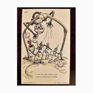 Alberto Martini, La Danse Macabre, Illustrated Book, 1915