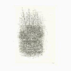Jean René Bazaine, Composition, Original Lithograph, 1966