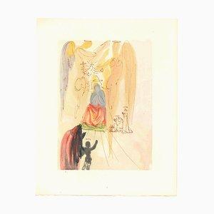 Salvador Dalí, Corner 23, Original Woodcut, 1963