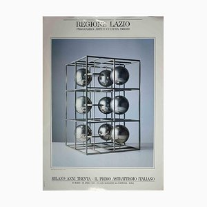Unknown, Poster of the First Italian Abstractionism, Vintage Offset Print, 1989