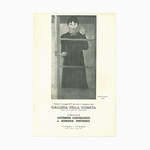Unknown, Cometa Gallery Vintage Catalogue, Offset Print, 1936